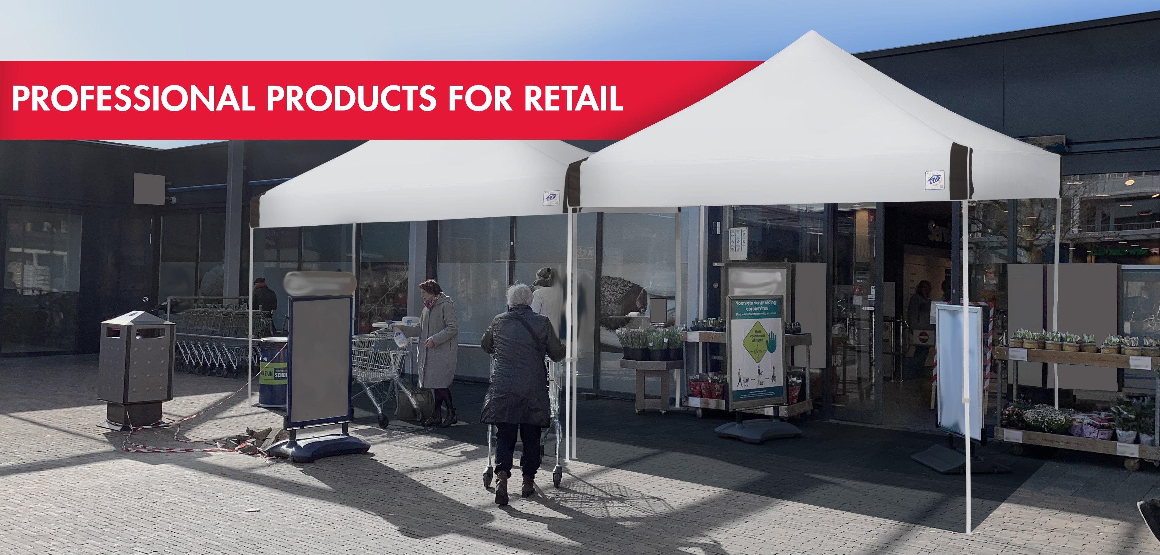 Professionelle Produkte für den Einzelhandel