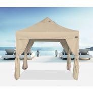 E-Z UP® - Bungalow® - 3 x 3m - mit 4 Vorhängen