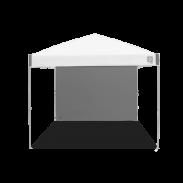Freizeit Seitenwände - Gerade - 3 x 3 m - Ambassador™/Envoy™ - Stahlgrau