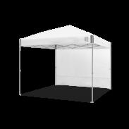 E-Z UP® - Freizeit Seitenwände - Gerade - 3x3m - Ambassador™/Envoy™ - Weiss