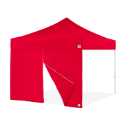 E-Z UP® Endeavor™ - Professionelle Seitenwand mit mittlerem Reißverschluß - 4m