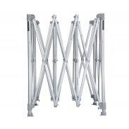 E-Z UP® - Endeavor™ 4.0 x 4.0m klares Aluminium Rahmen