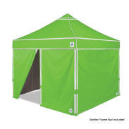 Hi-Viz Sidewall 3.0m - 4 Pack Bright Green