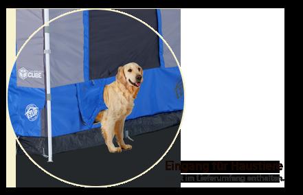 Camping Cube™ Pet Portal
