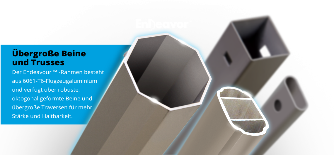 Endeavor™ Aluminium Easy Up Faltzelt | E-Z UP