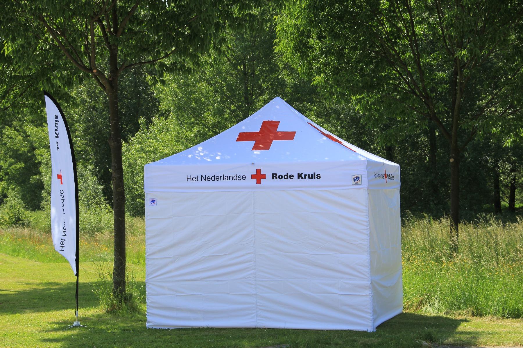 Rotes Kreuz Niederlande E-Z UP